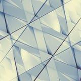 Abstracte 3D illustratie architecturale achtergrond Royalty-vrije Stock Foto