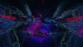 Abstracte 3D Illustratie Digitale Achtergrond Royalty-vrije Stock Afbeeldingen