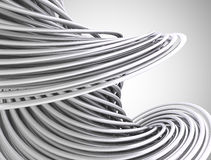 Abstracte 3d lijnen Stock Fotografie