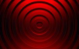 Abstracte 3d rode geometrische achtergrond Rode textuur met schaduw 3d geef terug Royalty-vrije Stock Fotografie