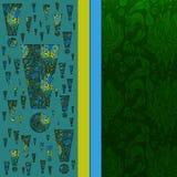 Abstracte 3D vectorachtergrond (ontwerp) Stock Fotografie