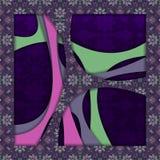 Abstracte 3D vectorachtergrond (ontwerp) Stock Foto's