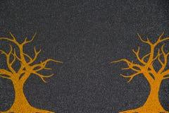 Abstracte Dalingsachtergrondafbeelding van Bomen royalty-vrije stock foto