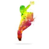 Abstracte Danser royalty-vrije illustratie