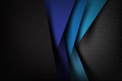Abstracte dark als achtergrond met de textuurvector van de koolstofvezel royalty-vrije illustratie