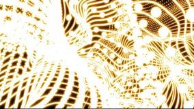 Abstracte de animatieachtergrond van de parel netto willekeurige bewegende wolk - de nieuwe dynamische kleurrijke videolengte van royalty-vrije illustratie