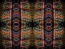 Abstracte de Architectuurontwerpen van het kerkglas royalty-vrije stock fotografie