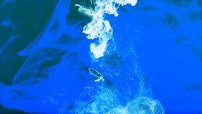 Abstracte de Bewegingsachtergrond van Grunge Art Ink Paint Spread Blast stock video