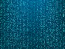 Abstracte de codeachtergrond van de technologiecomputer royalty-vrije illustratie