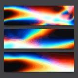Abstracte de kunst heldere lijnen van het regenboog kleurrijke neon en multi-colored vlekken, de levendige lay-out van de kleuren stock illustratie