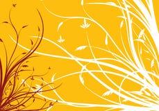 Abstracte de lente bloemen decoratieve vectorillustratie als achtergrond Royalty-vrije Stock Foto