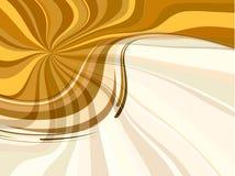 Abstracte de lenteachtergrond in oranje kleur Stock Fotografie