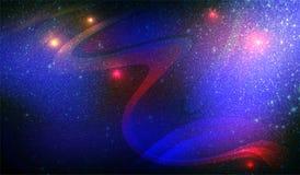 Abstracte in de schaduw gesteld multicolored schittert geweven achtergrond met verlichtingsgevolgen Achtergrond, behang stock foto