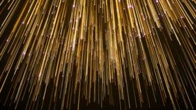 Abstracte de Strook Elegante Achtergrond van Ster Dalende Lichten stock afbeelding