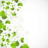 Abstracte de technologieachtergrond van de Ecovervaardiging Stock Foto