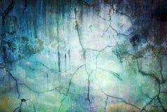 Abstracte de textuur donkerblauwe achtergrond van de grungemuur Stock Afbeelding