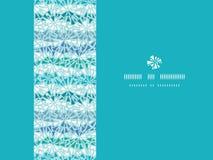 Abstracte de textuur horizontale naadloos van ijschrystals Stock Afbeelding