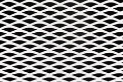 Abstracte de textuurachtergrond van het witmetaalnet vector illustratie