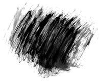 Abstracte de textuurvector van de inktverf Royalty-vrije Stock Foto