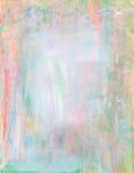 Abstracte de verfachtergrond van de pastelkleurwaterverf Stock Afbeeldingen