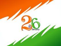 Abstracte de vieringsachtergrond van de republiekdag vector illustratie