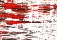 Abstracte de waterverfachtergrond van Spartan Crimson Stock Foto