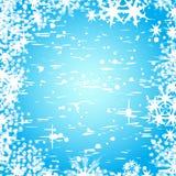 Abstracte de winter vectorbackgro royalty-vrije illustratie