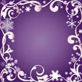 Abstracte de winterachtergrond Royalty-vrije Stock Afbeelding