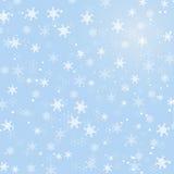 Abstracte de Winterachtergrond royalty-vrije illustratie