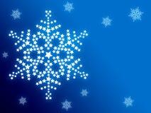 Abstracte de winterachtergrond vector illustratie