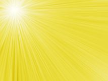Abstracte de zomerachtergrond met zon Royalty-vrije Stock Foto