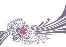 Abstracte decoratieve achtergrond royalty-vrije illustratie