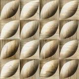 Abstracte decoratieve die tegels voor naadloze achtergrond - decoratiemateriaal worden gestapeld - houten textuur royalty-vrije illustratie