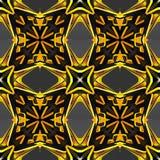 Abstracte decoratieve patronenachtergronden 3D Illustratie Royalty-vrije Stock Foto's