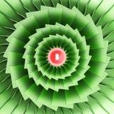 Abstracte decoratieve patronenachtergronden 3D Illustratie Stock Foto
