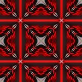 Abstracte decoratieve patronenachtergronden 3D Illustratie Stock Foto's