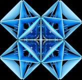 Abstracte decoratieve patronenachtergronden 3D Illustratie Stock Fotografie