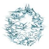 Abstracte deeltjes Stock Afbeeldingen