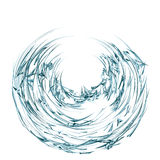 Abstracte deeltjes Royalty-vrije Stock Foto