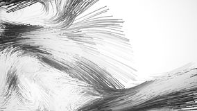 Abstracte deeltjes met staarten vector illustratie