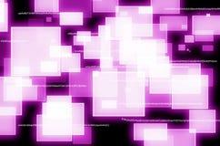 Abstracte Defocused-lichten Stock Foto
