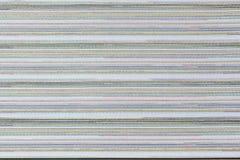 Abstracte detailkleur en laag boekdocument pagina's dik Royalty-vrije Stock Afbeelding