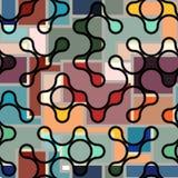 Abstracte diagonale achtergrond Stock Fotografie