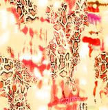 Abstracte diagonale vorm in de kleur van de pastelkleurmunt stock illustratie