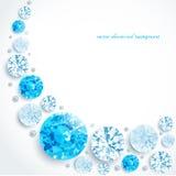 Abstracte diamanten en parels als achtergrond Royalty-vrije Stock Foto