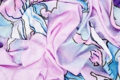 Abstracte die achtergrond van doek wordt gemaakt Stock Fotografie