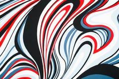 Abstracte die achtergrond van doek wordt gemaakt Stock Afbeelding