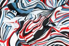 Abstracte die achtergrond van doek wordt gemaakt Royalty-vrije Stock Foto's