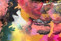 Abstracte die achtergrond van Spelklei wordt gemaakt Stock Foto