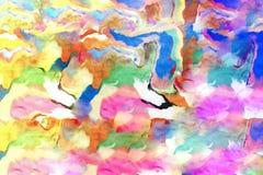 Abstracte die achtergrond van Spelklei wordt gemaakt Stock Afbeeldingen